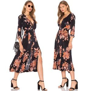 Free People Dresses - Free People Miranda Floral Midi Dress